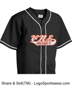 Adult Walk Off Baseball Jerseys with Sewn-On Braid Design Zoom